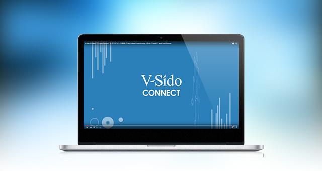 映像制作<br />YouTube動画<br />「V-Sido CONNECTとIntel Edisonによるロボットの制御」