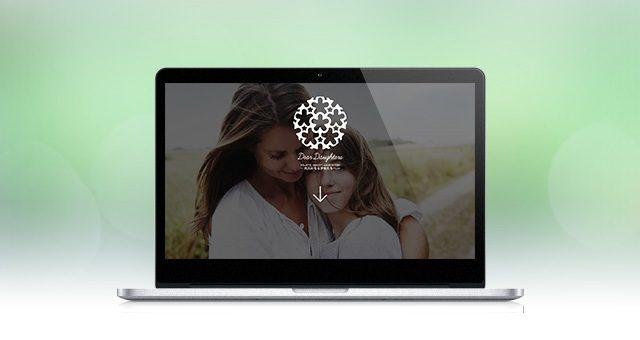 ウェブサイト<br />「Dear Daughters」コンセプトページ