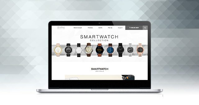 ウェブサイト<br />「SMARTWATCH Collection」