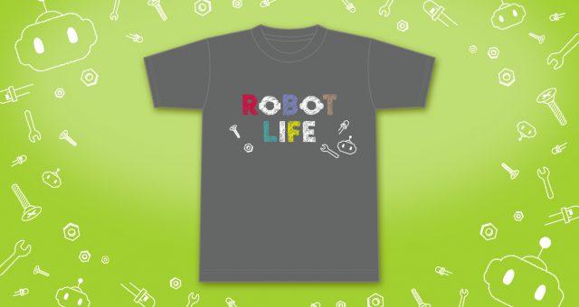 Tシャツほか<br />「ROBOT LIFE」